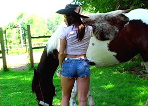 Hot Cowgirl! Teasing 2