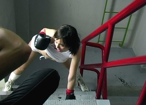 Backstage - photoshoot - boxing Teasing 3