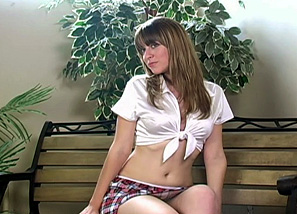 Photoshoot School Girl Teasing 1